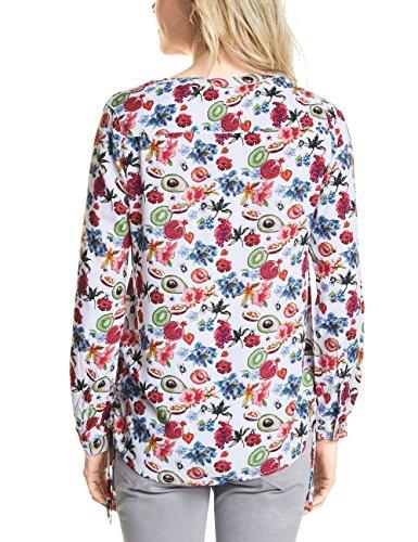 Blusa Cecil 30000 Para white Multicolor Mujer ZqwvqxH