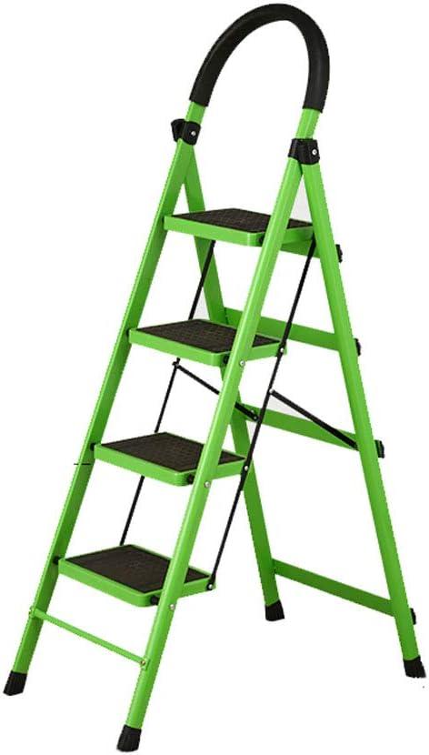 Yang baby Escalera Plegable Escalera móvil en Espiga Escalera móvil Escalera telescópica Escalera multifunción (Color : Green): Amazon.es: Hogar