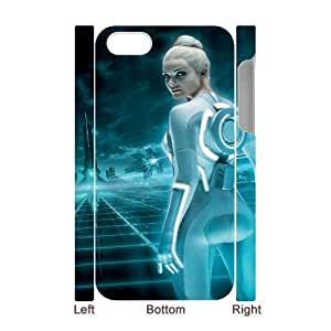 Tron Legacy ROCK0022716 3D Art Print Design Phone Back Case Customized Hard Shell Protection Iphone 4,4S