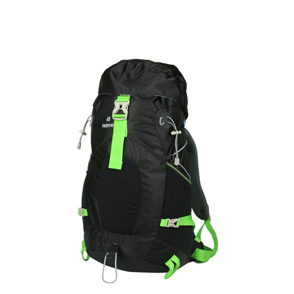 WuJiPeng Multifunktionaler Outdoor-Wanderrucksack Für Männer Und Frauen Große Kapazität 45L Camping- Und Kletterrucksack Tuch