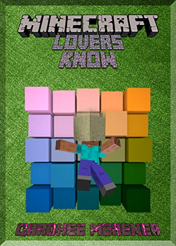 All Minecraft lovers Should Know This: (An Unofficial ...