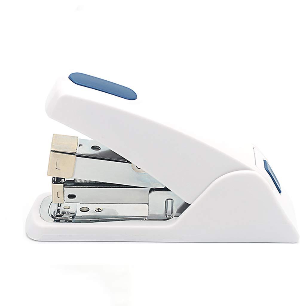 Stapler/Mini Stapler,Manual Stapler,Suitable for 24/6 Staples Office Supplies White by YANGLIYU