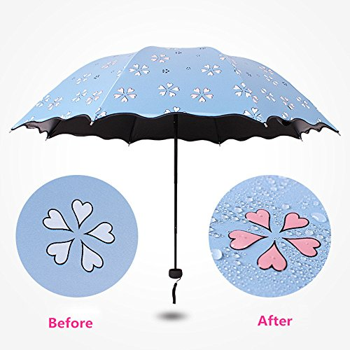 788ce8223167 Ai-life Magic Water Activated Color Changing Umbrella Flower Pattern ...