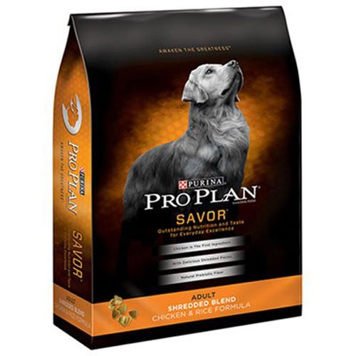 Purina Pro Plan Savor Adult Shredded Blend Chicken   Rice Formula Dog Food  35 Lb  Bag