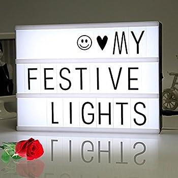 The original my cinema lightbox led with 100 - Lightbox amazon ...