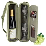 Picnic at Ascot Hamptons Collection Wine Carrier