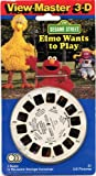 ViewMaster - Elmo Wants to Play - Sesame Street - 3 Reels on Card
