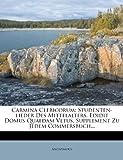 Carmina Clericorum, Anonymous, 1279356782