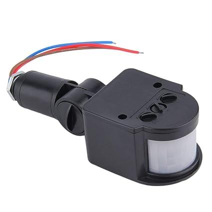 Detector de Interruptor de Sensor de Movimiento infrarrojo automático al Aire Libre PIR para luz LED
