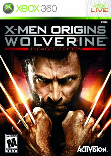 X-Men Origins: Wolverine - Uncaged Edition - Xbox 360 (360 Wolverine Xbox)
