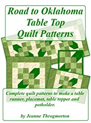Road to Oklahoma Table Top Quilt Patterns