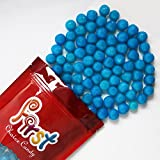 FirstChoiceCandy Blue Raspberry Fruit Sours Chewy Candy Balls 2LB Bag