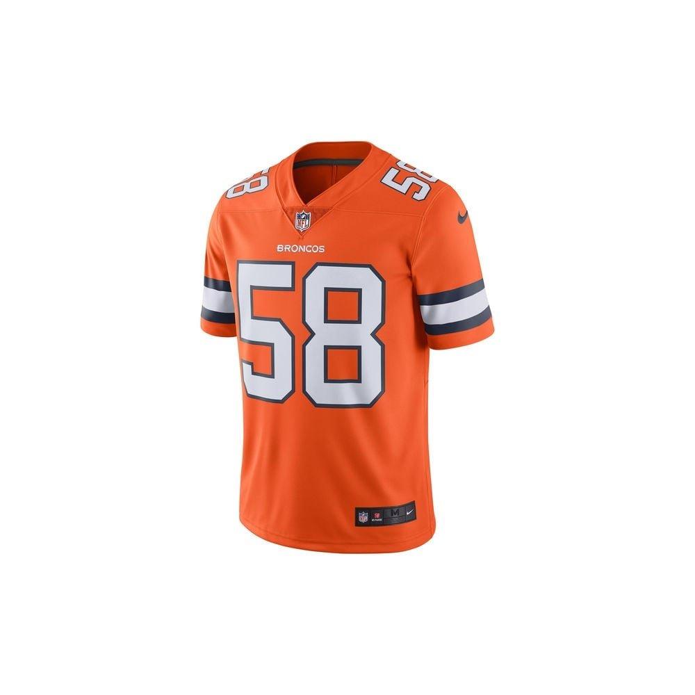 Amazon.com  Nike Von Miller Denver Broncos Color Rush Orange Limited Jersey  - Men s Small  Clothing fc39056ba