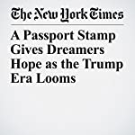 A Passport Stamp Gives Dreamers Hope as the Trump Era Looms | Liz Robbins