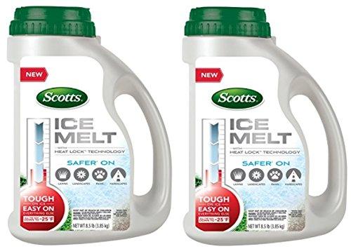 Scotts 46003A Ice Melt Jug, 8.5 lb (2 Pack) by Scotts