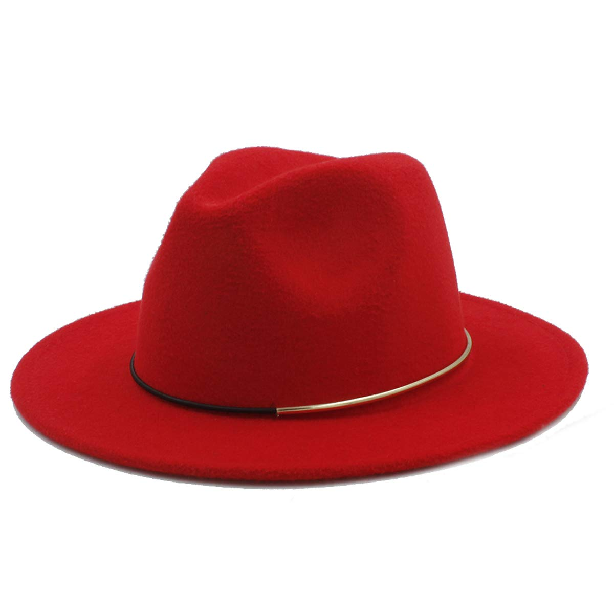 kemeiChina Wool Fedora Hats for Women Men for Winter Wide Brim Jazz caps