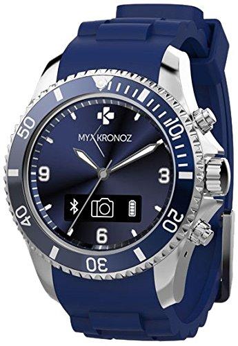 MYKRONOZ - Bracelet sante montre connectee ZECLOCK BLUE: Amazon.fr: High-tech