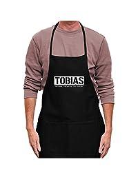 Teeburon Tobias THE MAN THE MYTH THE LEGEND Apron