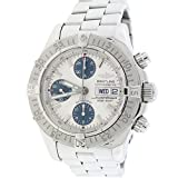 Breitling SuperOcean Chronograph Day Date 42MM Cream Dial Steel Watch A13340