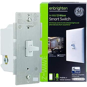 Ge Enbrighten Z Wave Plus Smart Outdoor Switch 1 Outlet