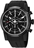 MomoDesign Composito Men's Black PVD Titanium Automatic Chronograph Watch MD280BK-01BKBK-RB