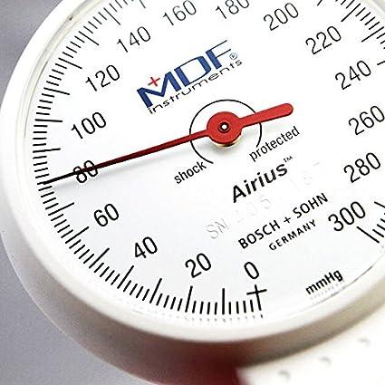 MDF® Airius® Palm Esfigmomanómetro aneroide - Monitor profesional de presión arterial - Gris (MDF848AR-12): Amazon.es: Salud y cuidado personal
