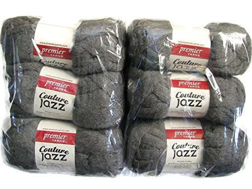 Couture Jazz Yarn, 6-Pack (Slate) by Premier Yarns (Image #1)