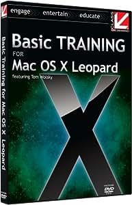 Class on Demand: Basic Training for Mac OS X Leopard: Apple Macintosh OSX Leopard training Educational Tutorial DVD