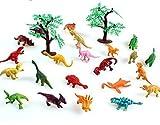 Vibgyor Vibes Pre Historic Dinosaurs Animals Figures Set