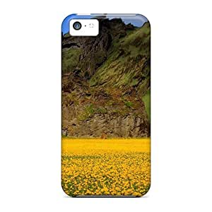 MMZ DIY PHONE CASEiphone 6 plus 5.5 inch LLoCV580TrZls Field Of Pansies By An Unusual Mountain Tpu Silicone Gel Case Cover. Fits iphone 6 plus 5.5 inch