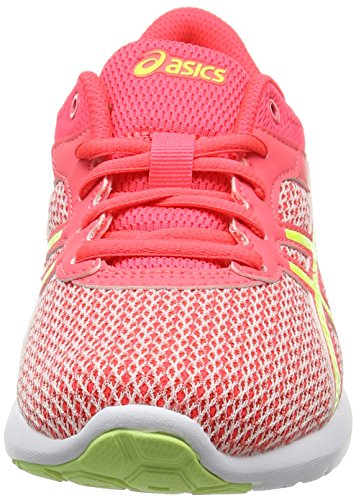 Asics Fuzex Lyte 2 Gs, Zapatillas de Running para Niñas Varios colores (Diva Pink / Safety Yellow / White)
