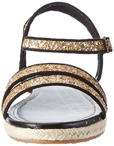Pepe Jeans London Damen Venize Glitter Sandalen Gold (Gold)