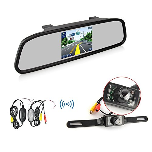 Ehotchpotch Wireless Rearview Display Waterproof product image