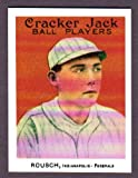 Ed Rousch 1915 Cracker Jack Reprint *w/ Original Back* (Red Sox)