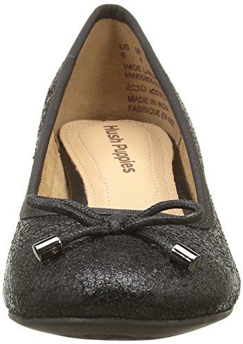 Hush Puppies Nikita - Zapatos de Talón Abierto Mujer negro