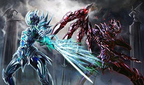 Amazon ラバープレイマット 騎士シリーズ翡翠と黒鉄の竜騎士