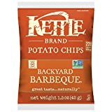 Kettle Brand Potato Chips, Backyard Barbeque, Single-Serve 1.5 Ounce (Pack of 64)