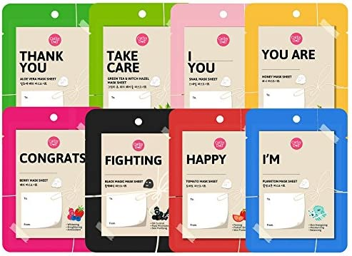[Cathy Doll] Trial Mask Sheet Set - 8 pack - 25g each