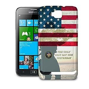 Phone Case For Samsung Ativ S i8750 - Navy Seals USA Glossy Back