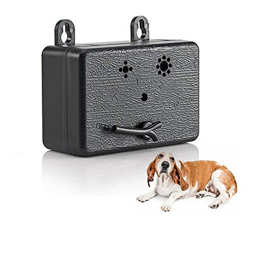 Upgrade Mini Bark Control Device, Outdoor Anti Barking Ultrasonic Dog Bark Control Sonic Bark Deterrents Silencer Stop Barking Bark Stop Repeller, No Bark Tool