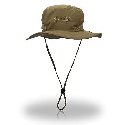 b586a3406f4 VERENIX Sun Hat for Men   Women,Waterproof Sun Hat Outdoor UV Protection  Bucket Mesh