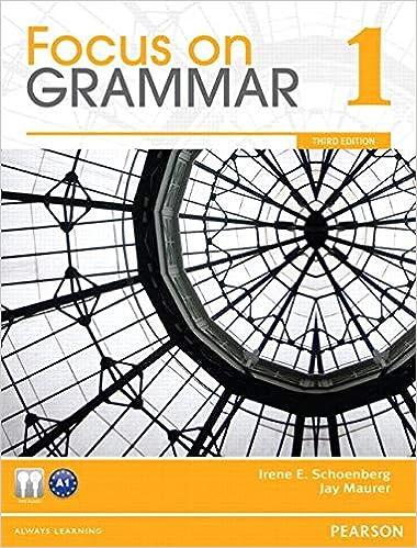 Focus on Grammar 1 3rd Edition