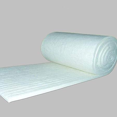 Manta ignífuga de algodón Mosaica de Aluminio Aguja de Silicona Fibra de cerámica Manta Aislante Caldera de Alta Temperatura Aislamiento de algodón Algodón refractario: Amazon.es: Hogar