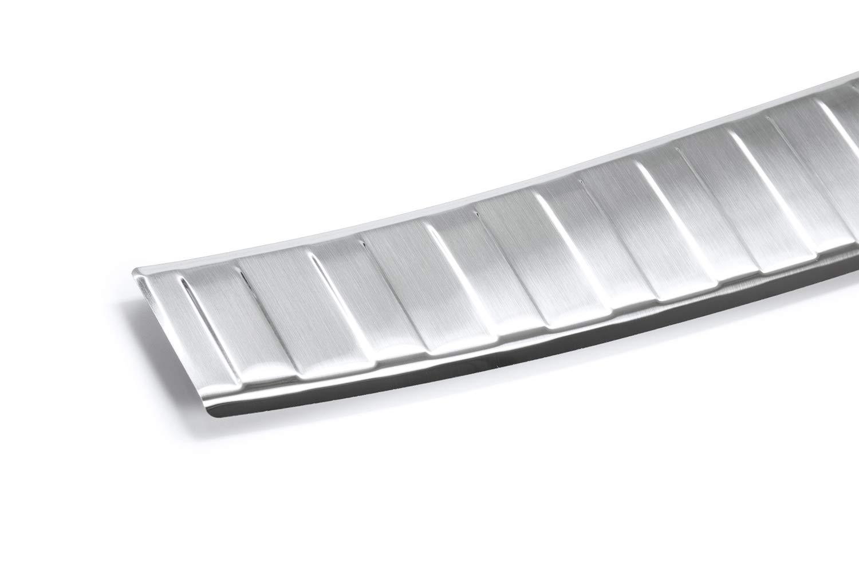 tuning-art L198 Protection de seuil de Coffre de Chargement en Acier Inoxydable avec Profil 3D et Bord Arrondi