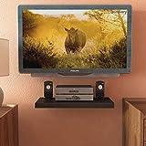 Decornation Apollo Set Top Box TV/DVD Player Shelf - Black