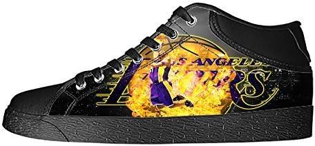 dalliy Los Angeles Lakers Kobe Bryant Damen Leinwand Schuhe ...