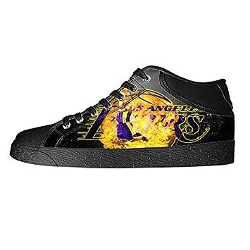 dalliy los angeles lakers kobe bryant Zapatillas de lienzo personalizar calzado zapatillas deportivas mujer: Amazon.es: Hogar