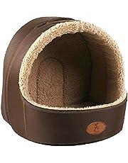 Casa de animal domestico - HOOPET iglu de cuerva de estera caliente de dormido de casa