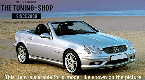 /2004/Gear ghetta Nero Pelle Italiana Per Mercedes SLK R170/1996/