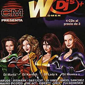 Women DJ's (4 CD Boxset)